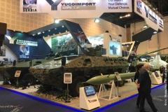 dalekometna raketa Sumadija i oklopna vozila Lazar3