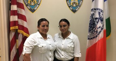 Mother and Daughter Together in Police Department